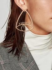 Stylish Devil Eye Geometry Women Earrings