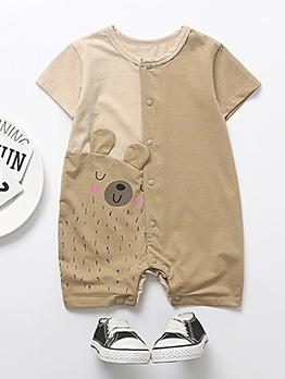 Summer Cotton Newborn Baby Rompers