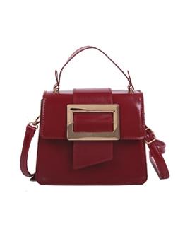 Vintage Style Solid Color Shoulder Bags For Women
