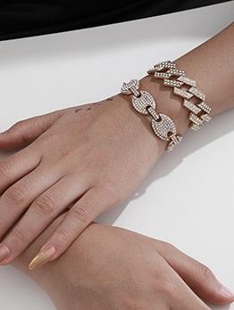 Luxury Full Rhinestone Temperament Versatile Bracelet