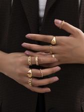 Easy Matching Fashion Women Ring Set