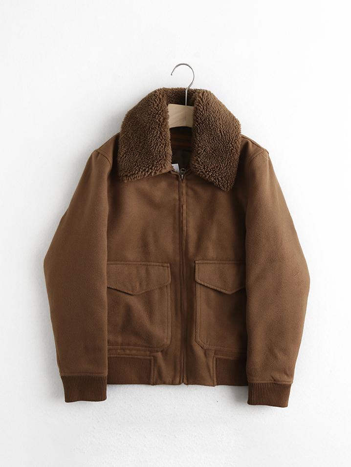 Winter Woolen Patchwork Jacket Men