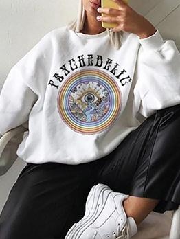 Winter Fashion Versatile Casual Women Sweatshirt
