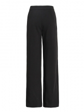 Solid High Waist Straight Pants For Women