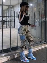 Fashion Street Casual Women Long Pants