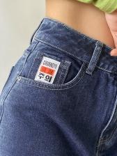 Straight Loose Fashion Cotton Casual Denim Jeans