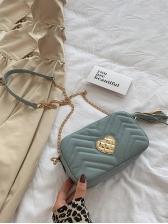 Simple Heart Patchwork Shoulder Bags