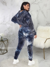 Tie Dye Plus Size Womens Tracksuits