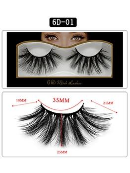 3D Stereo Dense Big Eyes False Eyelashes