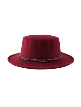 British Style Stylish Winter Fedora Hat
