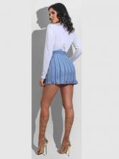 Euro Zipper Women Pencil Skirt
