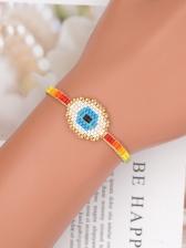Bohemian Contrast Color Beading Handmade Bracelet