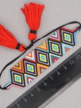 Geometry Shape Beads Ethnic Women Bracelet