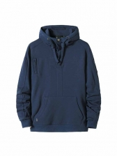 New Solid Hoodie For Men