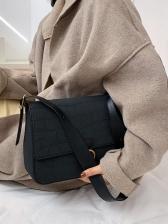Texture Matte Shoulder Bags For Women