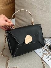 Fashion Color Block Chain Shoulder Bag