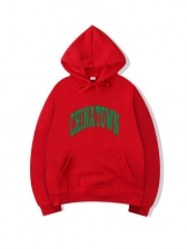 Grunge Style Letter Mens Hoodies For Autumn