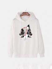 Surfboard Trend Hooded For Men Casual