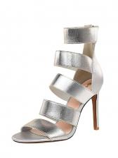 Fashion Stiletto Heels Open Toe Womens Boots