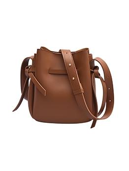 Vintage Solid Cross Shoulder Bag