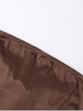 Sexy Tie Wrap Irregular Strapless Tank Top