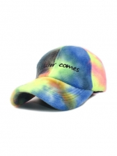 Fashion Latest Tie Dye Embroidered Baseball Cap