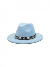Latest Style Street Jazz Travel Fedora Hat