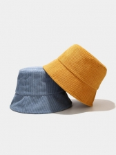 Solid Simple Easy Matching Students Bucket Hat