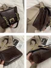 Fashion Alligator Print Shoulder Bags