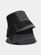 Easy Matching Outdoors Vintage Denim Fisherman Hat