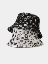Leopard Printed Pattern Stylish Spring Sun Bucket Hat