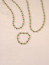 Trendy Bohemian Beads Necklace Bracelet Women