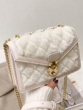 Fashion Rhombus Plaid Shoulder Bags