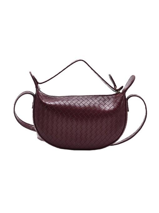 Autumn Solid New Saddle Bag