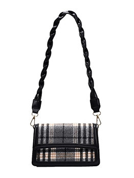 New Korea Plaid Armpits Shoulder Bag