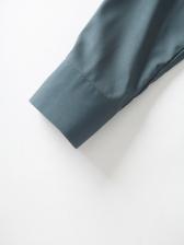 Vintage Flower Print Long Sleeve Shirt