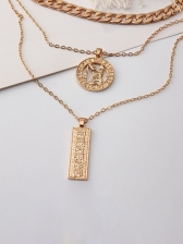 Easy Matching Trendy Pendant Necklace