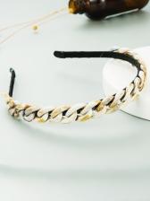 Simple Acrylic Versatile Women Hair Hoop