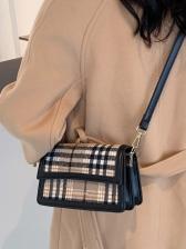 New Korea Plaid Armpits Shoulder Bag