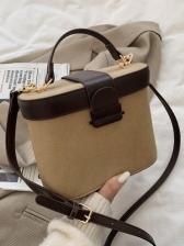 Korea Box Design Shoulder Bags