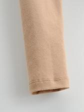 Autumn Thicken Plush Solid T Shirt