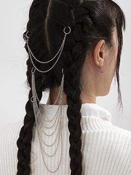 Vintage Multilayer Tassel Chain Hair Accessories
