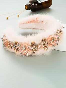 Winter Plush Catwalk Exquisite Hair Hoop