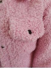 Turndown Collar Lambswool Coats For Women