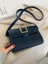 Vintage Solid Shoulder Bags For Women