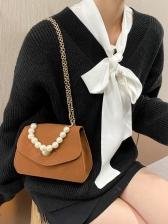Popular Faux Pearl Chain Handbags