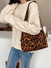 Leopard Print Armpit Bag For Dating