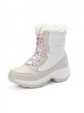 Versatile Inner Faux Fur Women Snow Boots