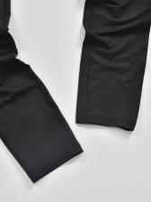 Gauze Patchwork Sleeveless Two Piece Pants Set
