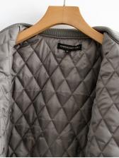 Fashion Cotton Patchwork Autumn Jacket